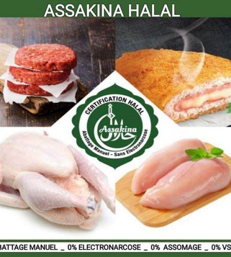 Assakina produits halal